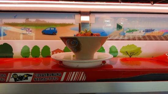 Genki Sushi: Hey honey, just one more from the Top Tier please:-)