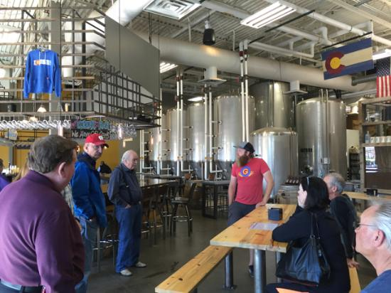 Highlands Ranch, CO: Getting the tour.