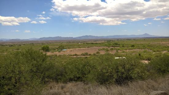 Douglas, AZ: View from the ruins of the fort