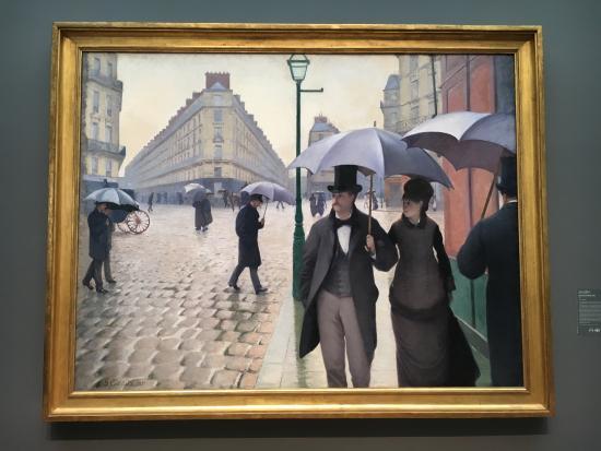 gustave callebotte paris street rainy day world essay