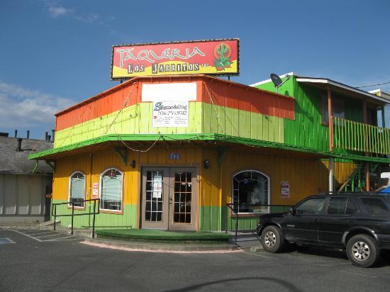 Taqueria Los Jarritos Nice Mexican Restaurant In Burlington