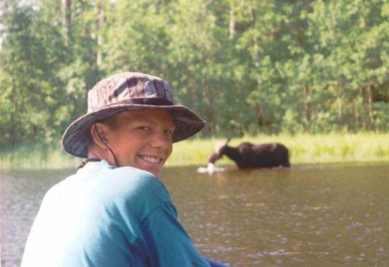 Voyageur North Outfitters: Seeing moose on a canoe trip