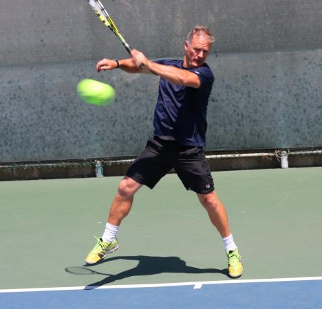 Dial Jones Tennis Academy: Dial - owner