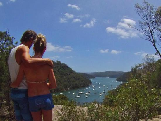 America Bay Lookout in the Ku-Ring-Gai Chase National Park, NSW