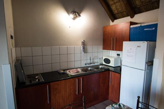 Mata-Mata Rest Camp : Great kitchenette