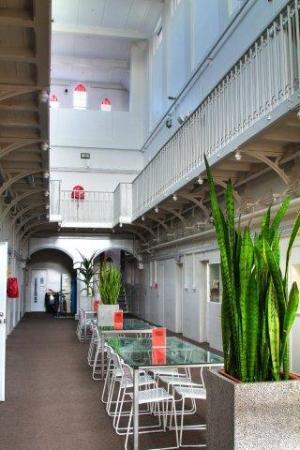 Jailhouse Accommodation: Ground Floor Atrium