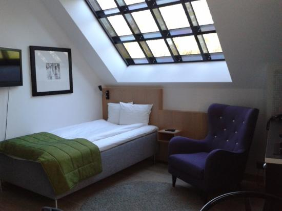 Single Room at Hotel Lundia | Stylish Hotel Room in Lund