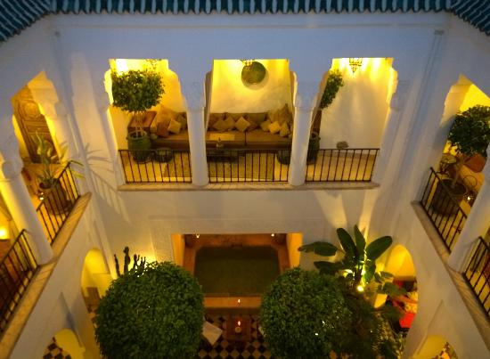 Riad Camilia: Night Courtyard