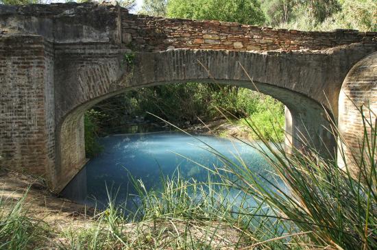 Banos de la Hedionda: römische Brücke
