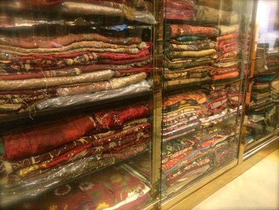 The Carpet Cellar: ANTIQUE MUGHAL VELVET AND ZARDOZI TEXTILES