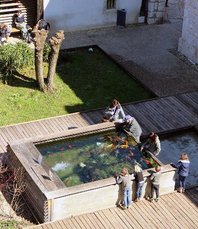 La Citadelle De Besancon: Outdoor Aquarium