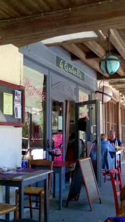 Labastide-d'Armagnac, فرنسا: entrée du restaurant