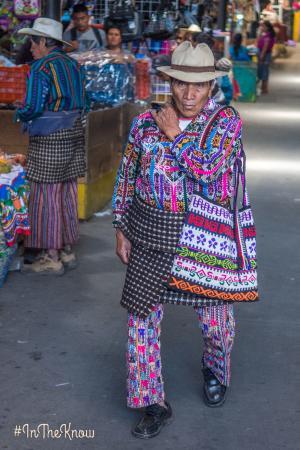 Solola Market: The real macho