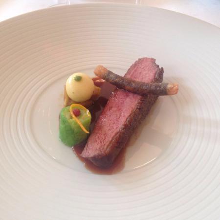 Waldhotel Sonnora Restaurant: Ente