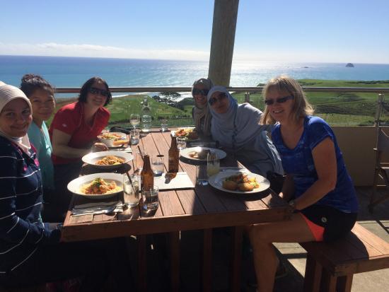 New Plymouth, Nueva Zelanda: Lunch