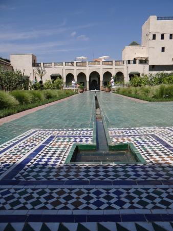 Jardin islamique picture of le jardin secret marrakech for Le jardin secret livre