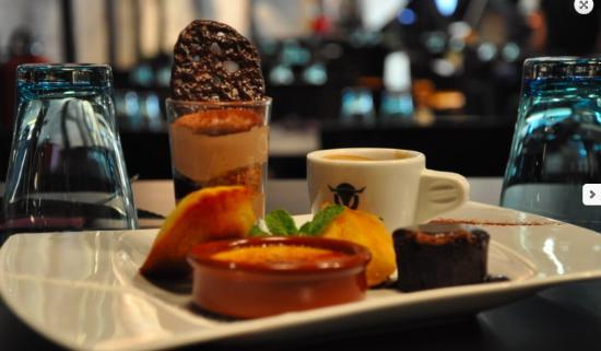 La Garde, Francja: Desserts gourmands