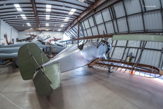 Western Museum of Flight: Hangar principal