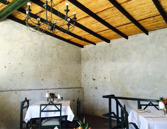Uniondale, Sudáfrica: Restaurant interior