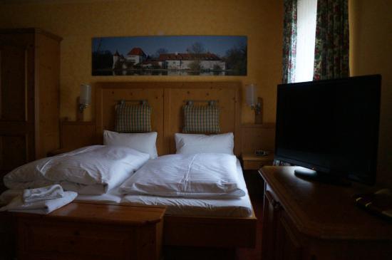 Landgasthof Deutsche Eiche : Ma confortable chambre
