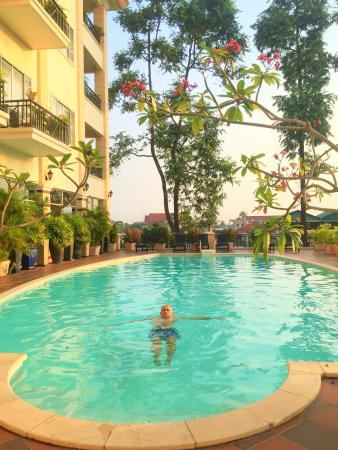 Stung Sangka Hotel: Awesome place, pool is amazing, friendly staff & will definitely be going back! Many thanks for