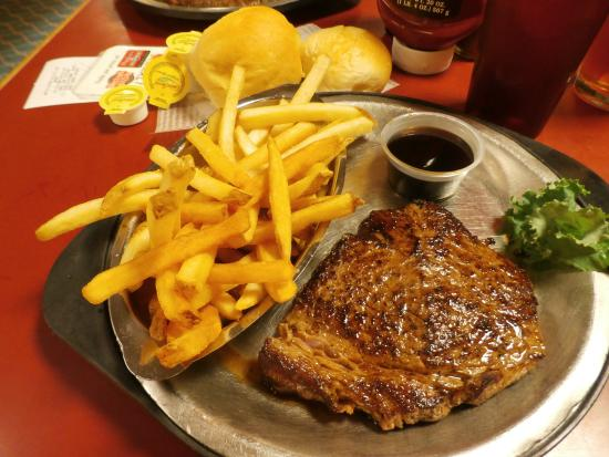 Steak And Fries Picture Of Western Sizzlin Steak House Oklahoma