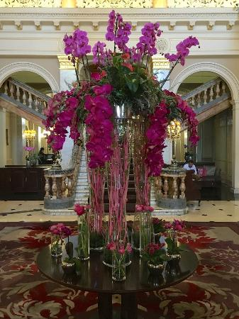Huge Flower Bouquet In The Lobby Picture Of The Grosvenor