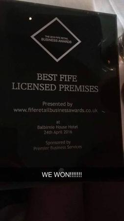 The Boudingait: Officially the 'Best Licensed Premises in Fife' 2016