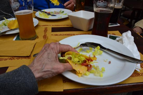 The Pub: Pints and a tasty crepe