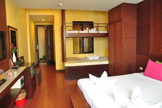 Sabye Bangkok Hotel: Family room