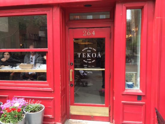 Photo of Restaurant Tekoa at 264 Clinton Street, Brooklyn, NY 11201, United States