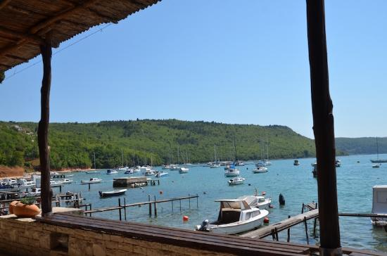 Istria, Chorwacja: The peaceful view from the restaurant's terrace.