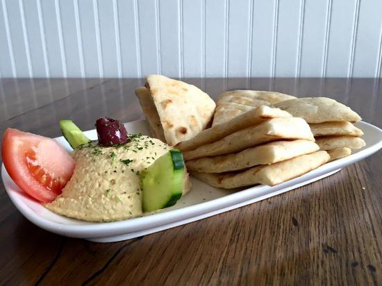 Opa! Mezze Grill: Hummus!