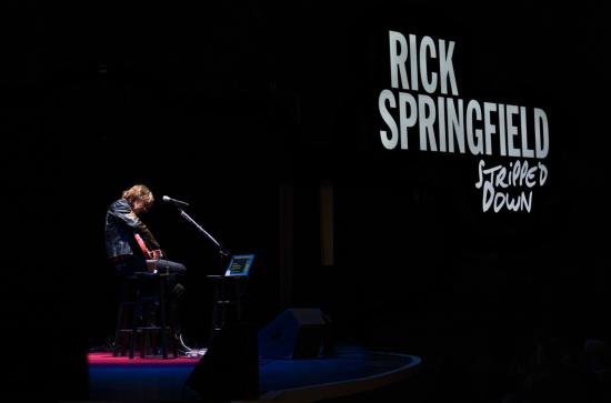 Crystal Grand Music Theater: Rick Springfield's 2016 performance at the Crystal Grand!