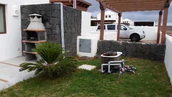 Villas Las Arecas Club: zona barbacoa