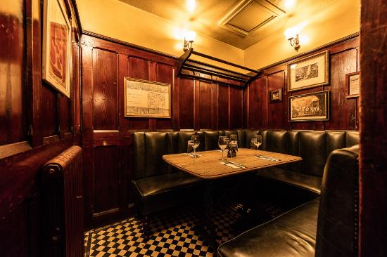 Private dining at the Fox & Anchor - Picture of Fox & Anchor, London ...