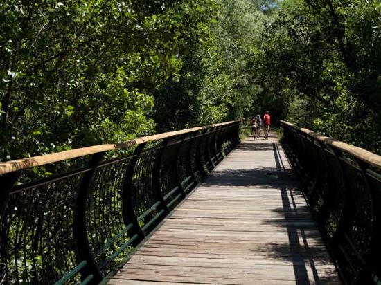 Cazalla de la Sierra, Espanha: Puente sobre Vía Verde