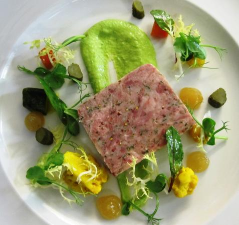 ‪‪Pickhill‬, UK: Ham Hock Terrine‬