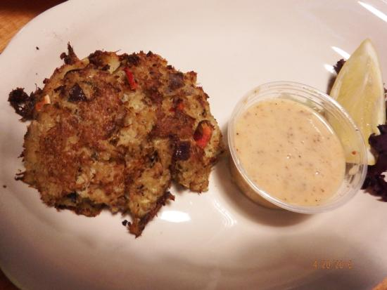 Hinesville, GA: crab cake