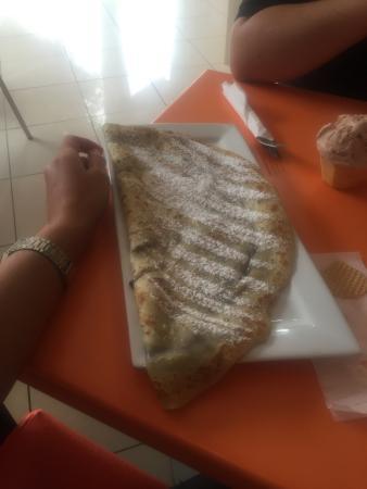 Santa Lucia, Spania: El crepes muy bueno.