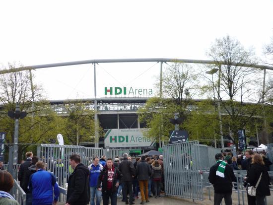 HDI Arena : Вход на стадион