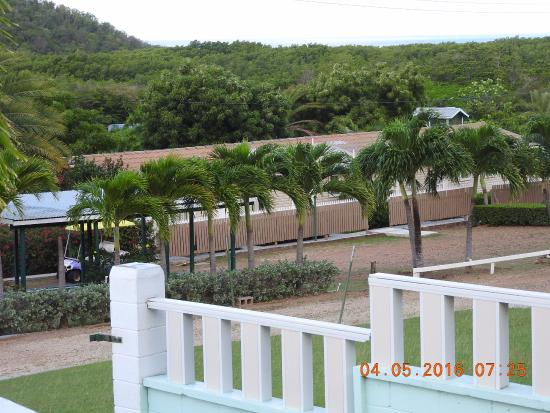 Cades Bay, Antigua: entrance view from street looking at smaller units
