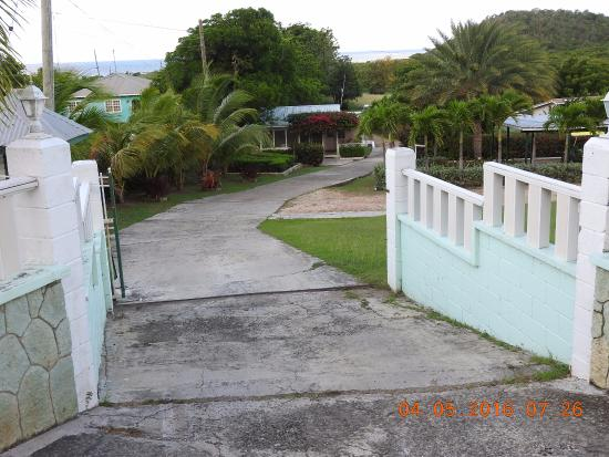 Cades Bay, Antigua: entrance view from street