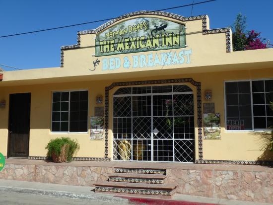Norman Diego's The Mexican Inn: Street entrance