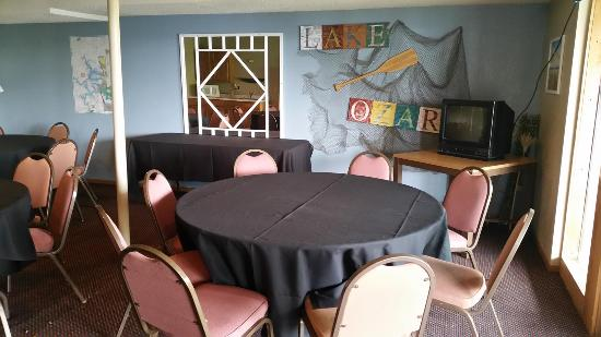 Hawk's Nest Lodge: Meeting Room