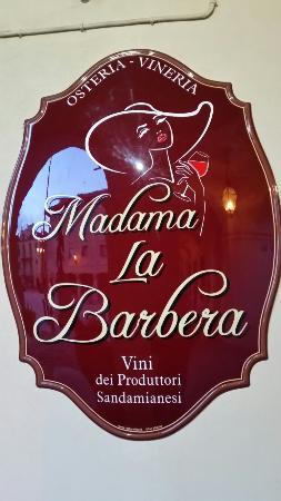 Osteria Madama la Barbera: 20160416_201500_large.jpg