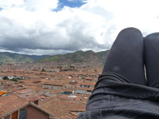 Hostal Resbalosa: vista desde la terraza