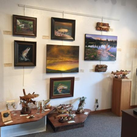 Saratoga, WY: Laura M Gallery destination for Fashion Furs and Fine Art