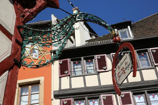 Colmar restaurant le fer rouge int rieur au charme - Fer rouge colmar ...