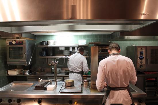 Kitchen Work Picture Of John Dory Fish Restaurant Amsterdam Tripadvisor